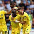 N'Golo Kanté, celebrând alături de colegi un gol la Chelsea. foto: Guliver/Getty Images