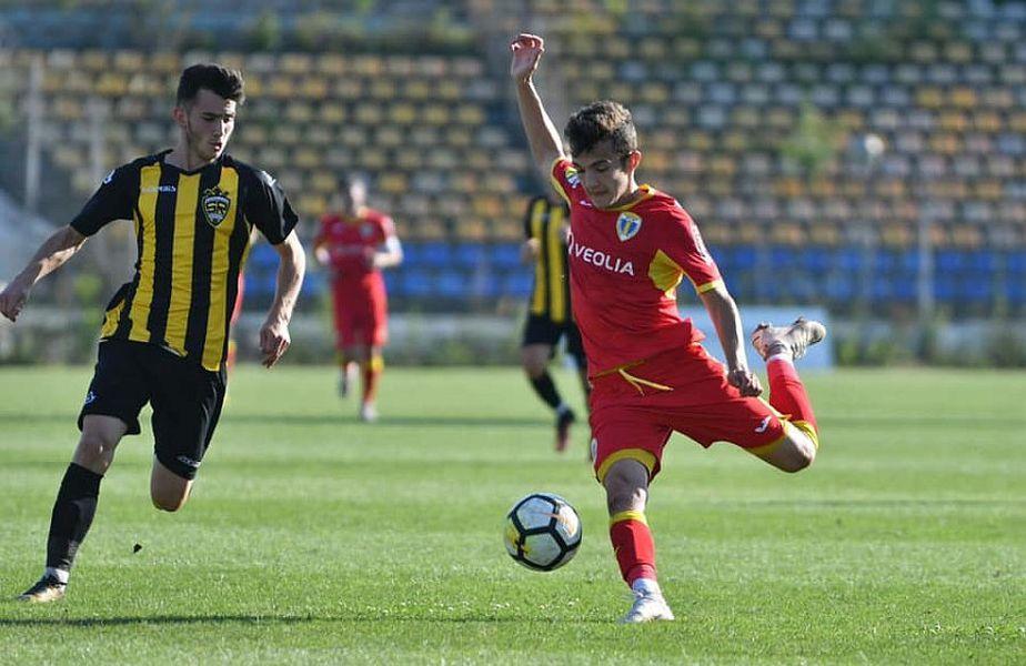 Mario Bratu, cu mingea la picior // FOTO: facebook.com/mary.bratu
