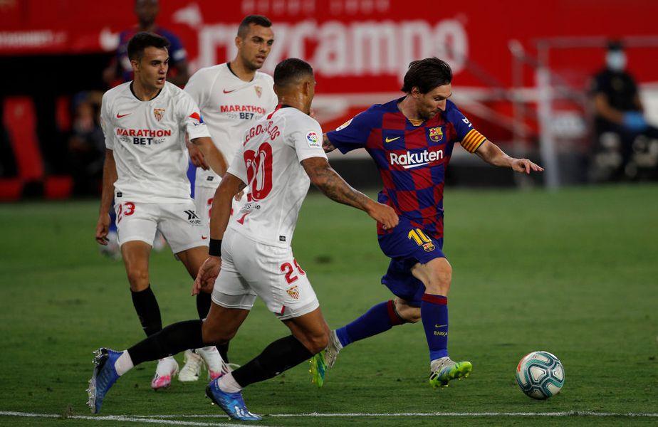 Sevilla s-a inspirat din FIFA 20 pentru a-l bloca pe Leo Messi la meciul cu Barcelona, 0-0, iar strategia a funcționat perfect.
