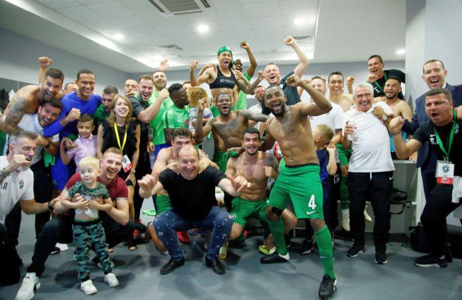 Ludogoreț a câștigat al nouălea titlu la rând în Bulgaria