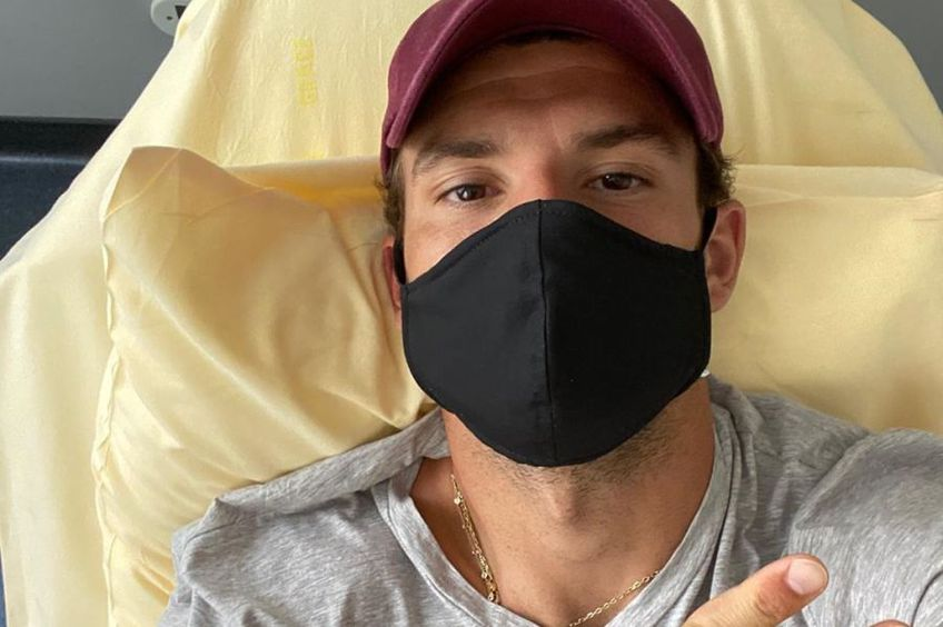 Grigor Dimitrov are coronavirus // Sursă foto: Instagram @grigordimitrov