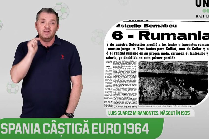 Altfel de European - Celălalt Luis Suarez și povestea primului titlu european al Spaniei