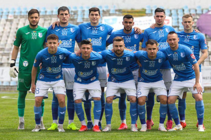 Farul a încheiat sezonul regulat 2020/2021 pe locul 7 // foto: Facebook @ FC Farul Constanța