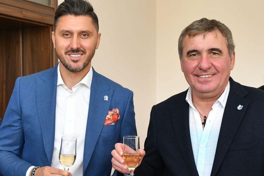 Hagi și Marica au făcut afacerea verii în fotbalul românesc. Sursă foto: Gazeta Sporturilor