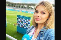 Jurnalista care l-a contrat pe Guardiola, surprinsă pe Arena Națională! Asistă la Ucraina - Austria