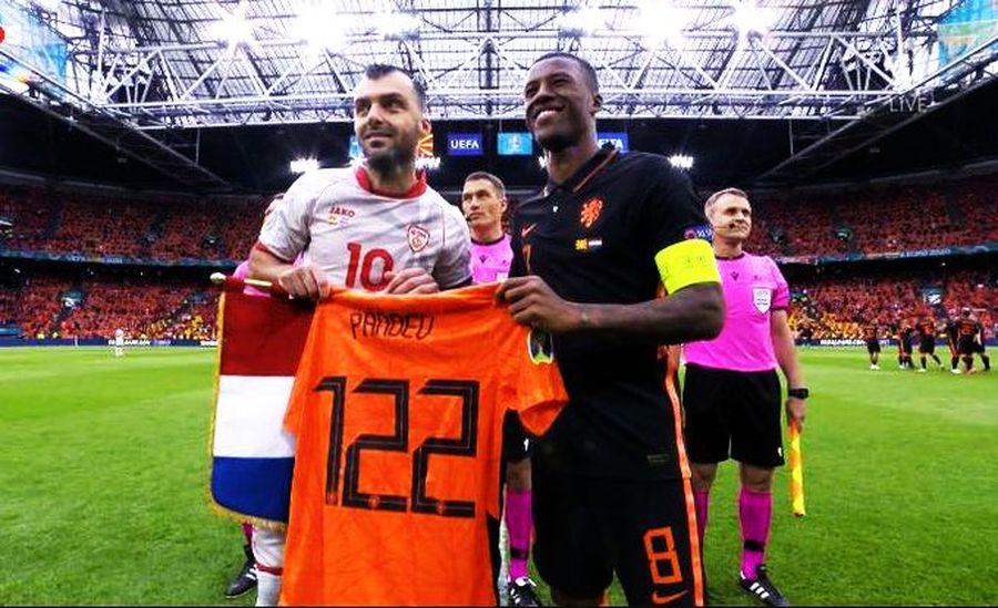 Macedonia de Nord - Olanda 0-3 » L-a supărat pe Pandev la retragere! Cum s-a descurcat Kovacs în primul lui meci la Euro