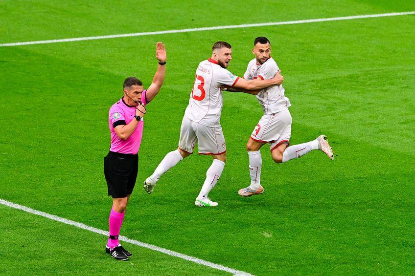 Brigada condusă de Istvan Kovacs a luat două decizii perfecte în prima repriză a meciului Macedonia de Nord - Olanda (Euro 2020, grupa C).