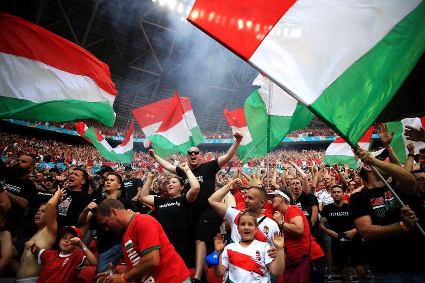 Fanii maghiari au făcut o atmosferă senzațională la Euro