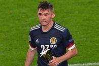 Anglia are de suferit după cazul de COVID-19 de la naționala Scoției » 2 jucători au intrat în autoizolare, după ce au interacționat cu Gilmour
