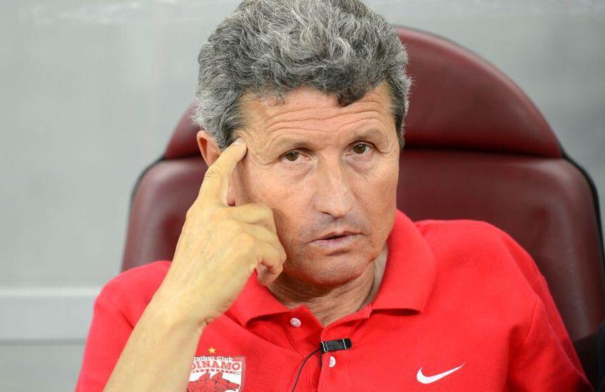 Gigi Mulțescu, antrenorul lui Dinamo, bate tot mai mult în retragere, după doar două antrenamente: