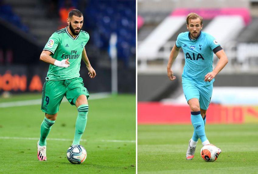 Karim Benzema (stânga) și Harry Kane (dreapta) pot fi aleși în Echipa Săptămânii la FIFA Ultimate Team // foto: Guliver/gettyimages