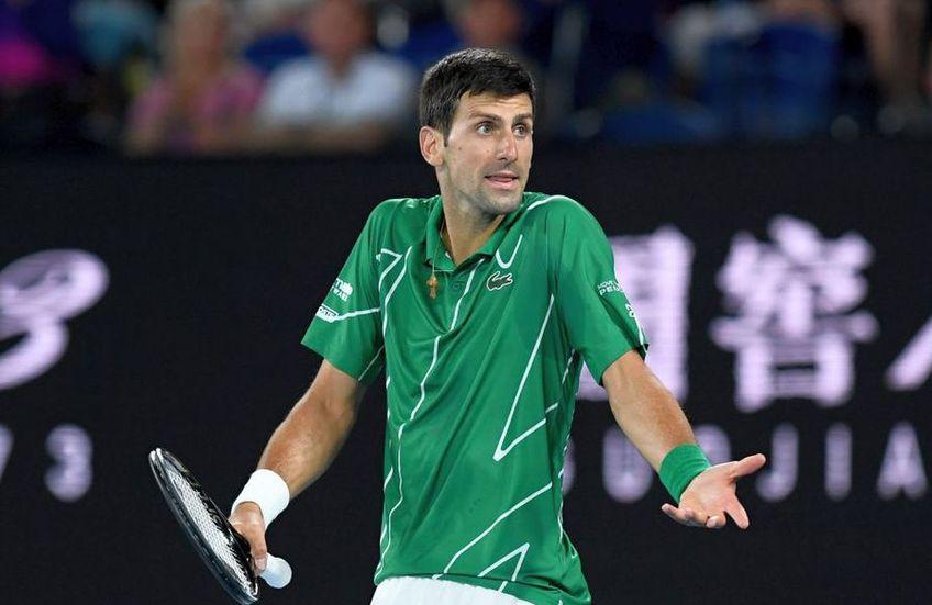 Jucătoarea care l-a criticat pe Djokovic, exclusă din competiție