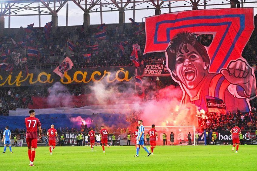 Stadionul din Ghencea a fost inaugurat cu un meci între CSA Steaua și OFK Belgrad