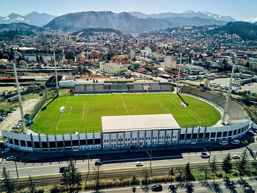 Stadionul Tineretului din Brașov foto: Raed Krishan/GSP