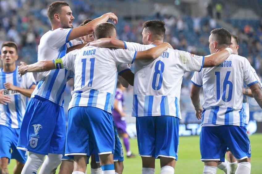 Universitatea Craiova a câștigat primul meci din noul sezon al Ligii 1, 1-0 cu FC Argeș // foto: Facebook