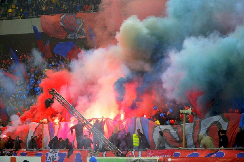 Peluza Nord revine la meciurile FCSB-ului. FOTO: Arhivă GSP