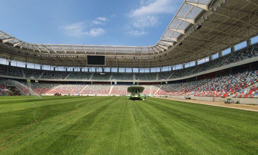 Stadionul Ghencea este aproape de finalizare