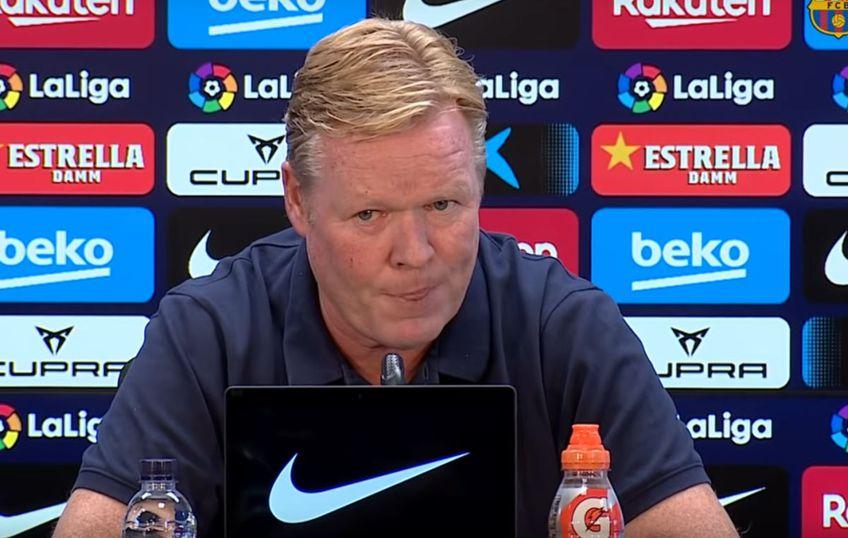 Antrenorul Rpnald Koeman ar putea fi demis în orice clipă de la Barcelona