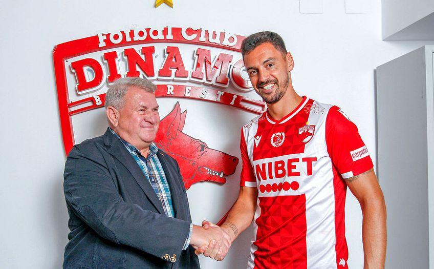 Andre Pinto a semnat cu Dinamo