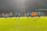 Ce s-a întâmplat la antrenamentul oficial, înainte de CS Hunedoara - FCSB » Imagini exclusive