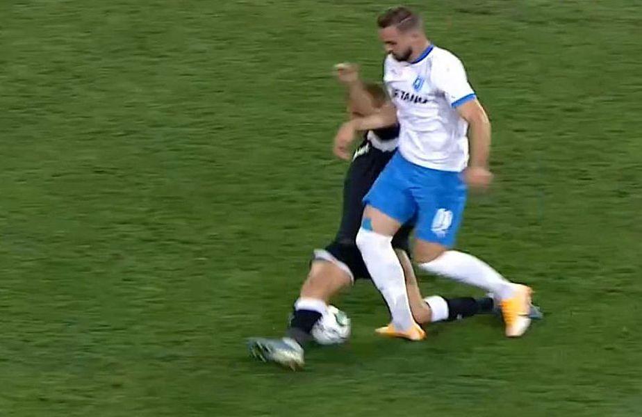 Ovidiu Mihalache (35 de ani, fundaș central) a fost suspendat astăzi opt etape ca urmare a faptului că l-a accidentat pe Elvir Koljic (25, atacant) în disputa dintre Craiova și Poli Iași (1-0).