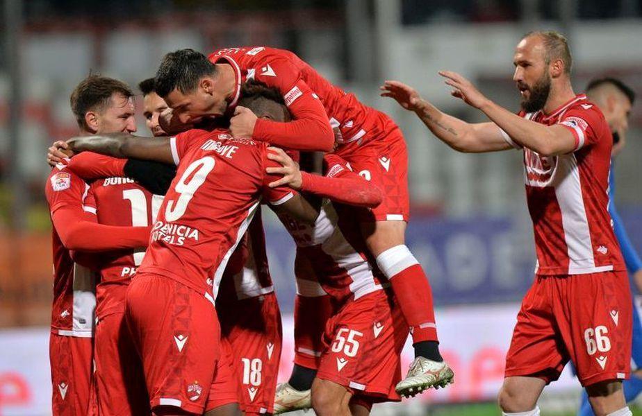 Dinamo - Voluntari 3-0. foto: Cristi Preda