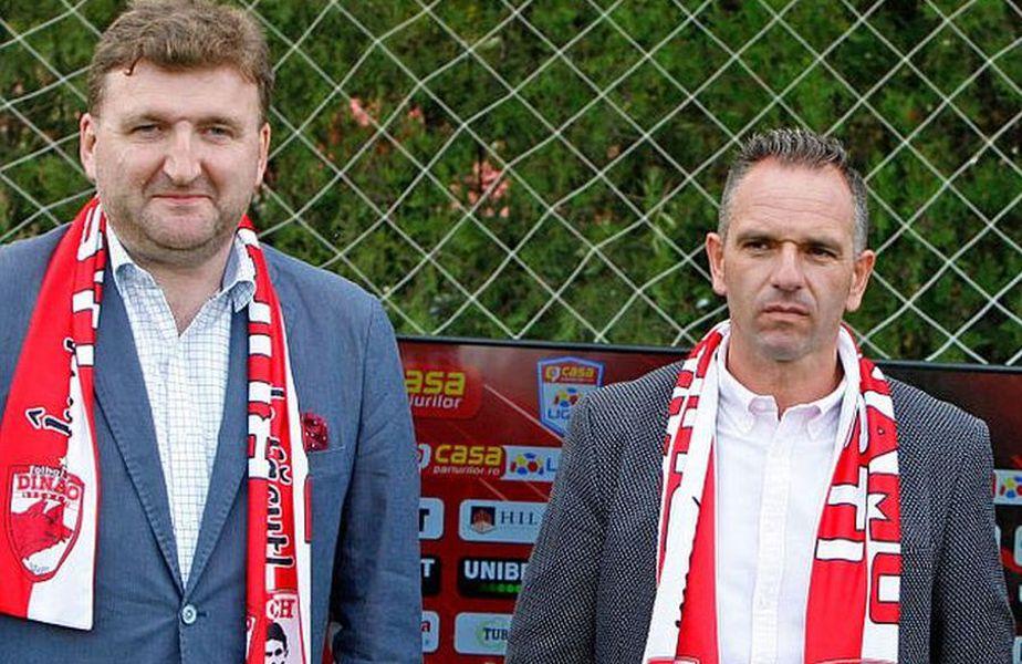 """Șerdean și Cortacero, la începuturile proiectului """"Nuevo Dinamo"""""""