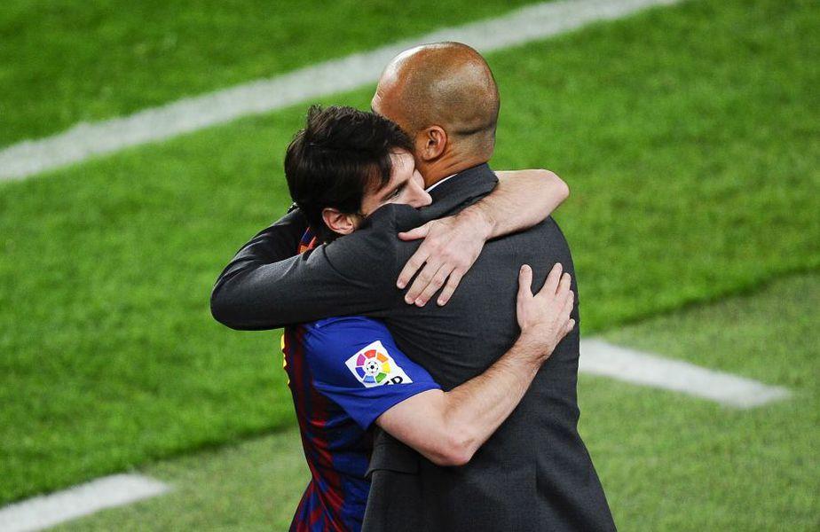 Josep Guardiola, Leo Messi foto: Guliver/Getty Images
