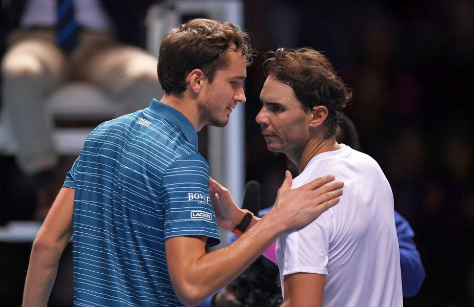 Rafael Nadal se va duela cu Daniil Medvedev. foto: Guliver/Getty Images