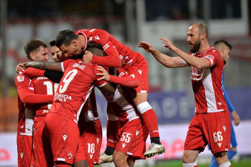 Dinamo a câștigat clar cu Voluntari, scor 3-0