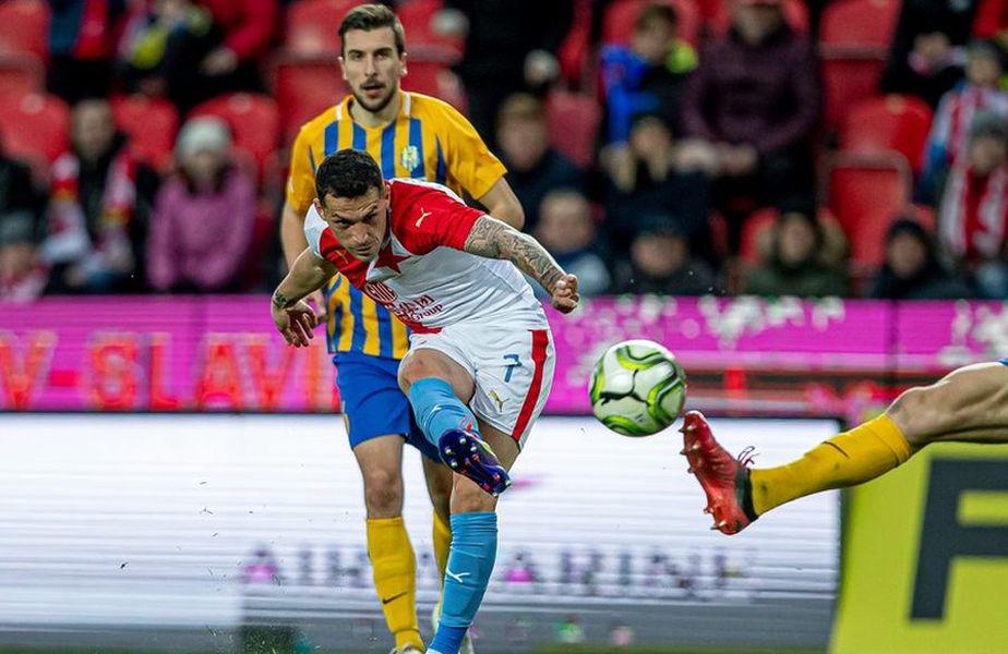 Slavia Praga, echipa lui Nicolae Stanciu (27 de ani, mijlocaș ofensiv), a învins-o în etapa a 8-a pe Opava, scor 6-0.
