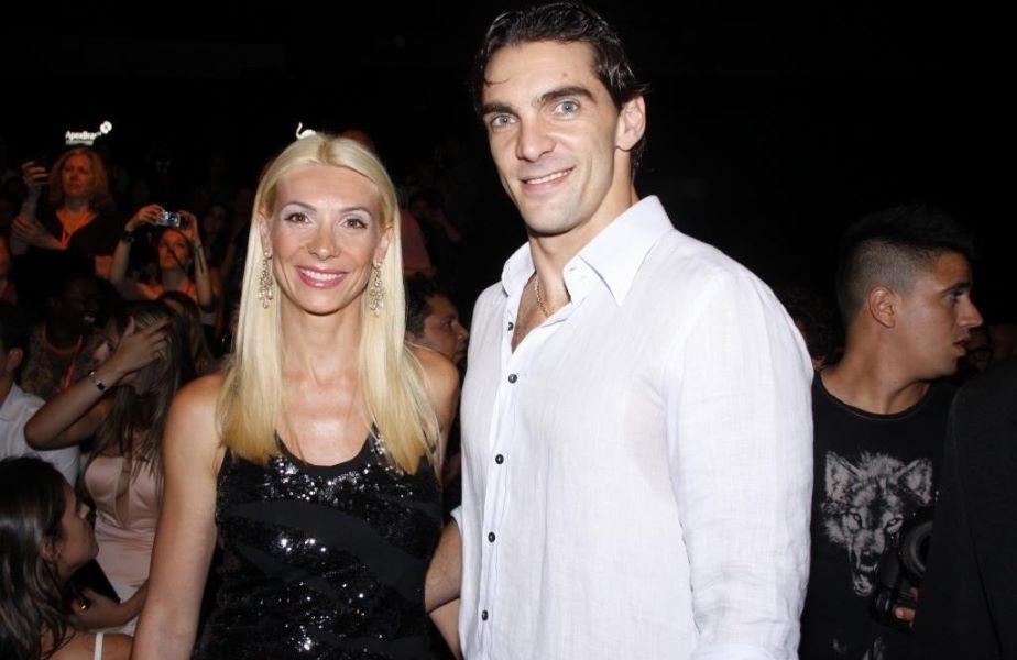 Cristina Pîrv și Giba pe când erau fericiți