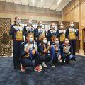 """Delegația """"tricoloră"""" a revenit în această seară în țară, după rezultatele entuziasmante obținute la Campionatul European de gimnastică de la Mersin, Turcia."""