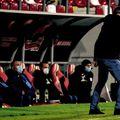 Astra Giurgiu a reușit scorul sezonului, 6-0 în deplasarea de la Arad FOTO: Alexandra Fechete