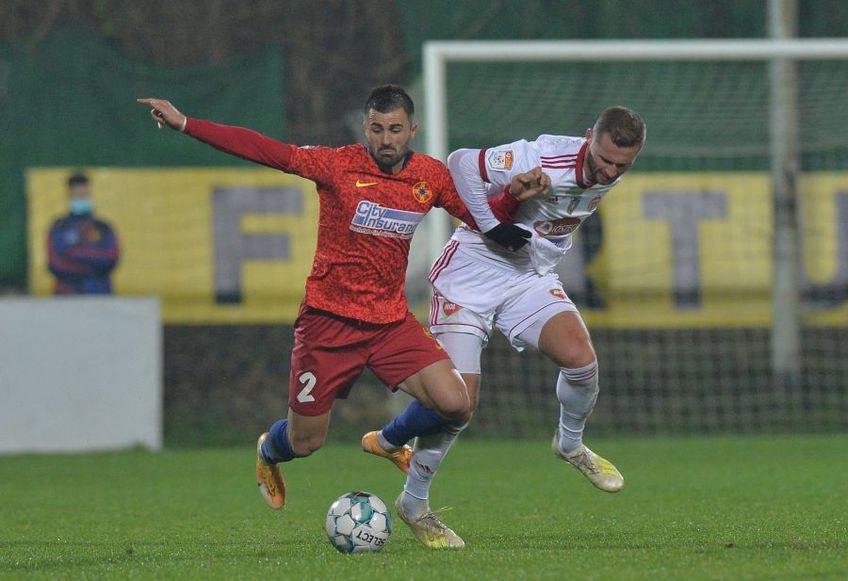 Valentin Crețu, la partida FCSB - Sepsi 1-1