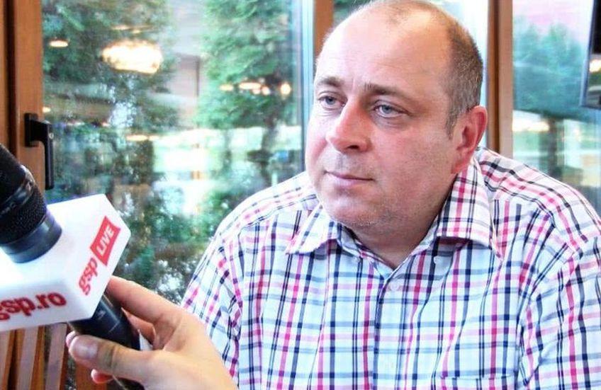 """Laszlo Dioszegy, patronul lui Sepsi: """"Sunt fericit că am reușit primul punct pe terenul lui FCSB"""""""