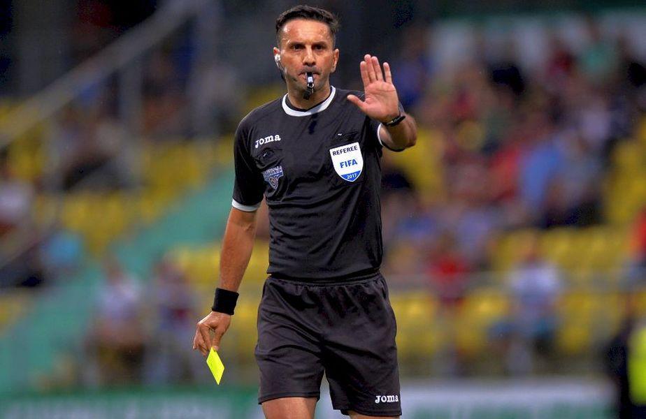 Sebastian Colțescu (43 de ani) va conduce meciul Sepsi - Astra de sâmbătă - runda #18 din Liga 1, ora 12:30.