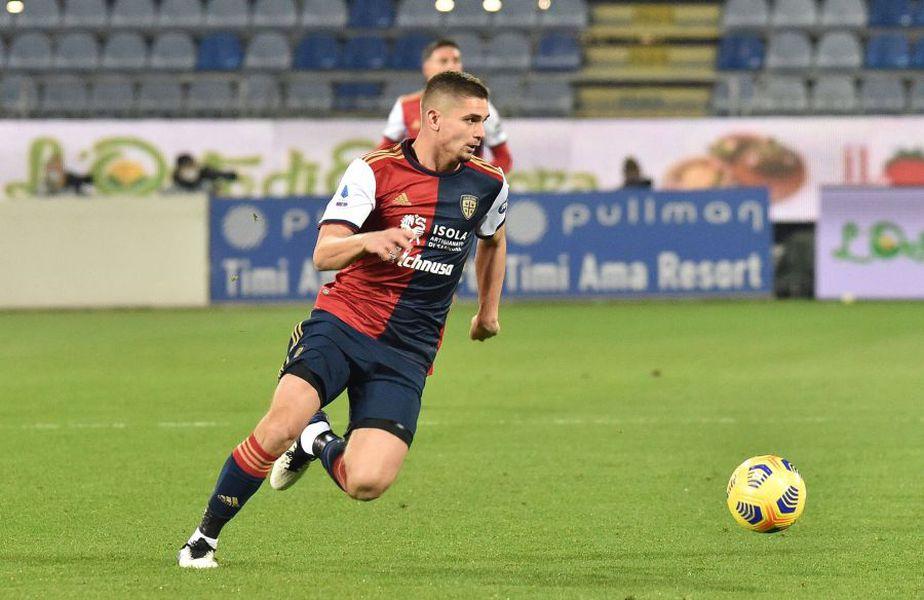 Antonio Conte, antrenorul lui Inter, se gândește la Răzvan Marin, mijlocașul în vârstă de 24 de ani, dacă Marcelo Brozovic îi părăsește pe nerazzurri în vară.