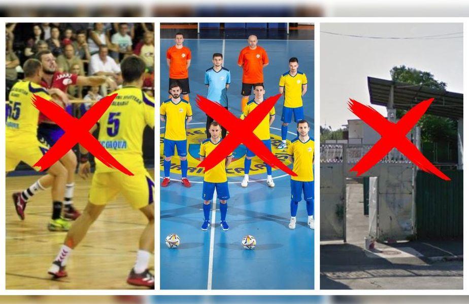 """Revoltă și acuze de răzbunare politică: """"Au distrus futsalul, handbalul, urmează fotbalul"""". AJF evacuat și lăsat fără curent!"""