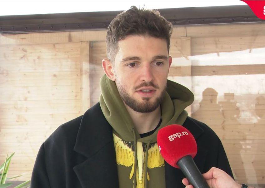 Sergiu Buș (28 de ani, atacant) a plecat de la FCSB, dar le ține pumnii foștilor colegi în lupta la titlu.