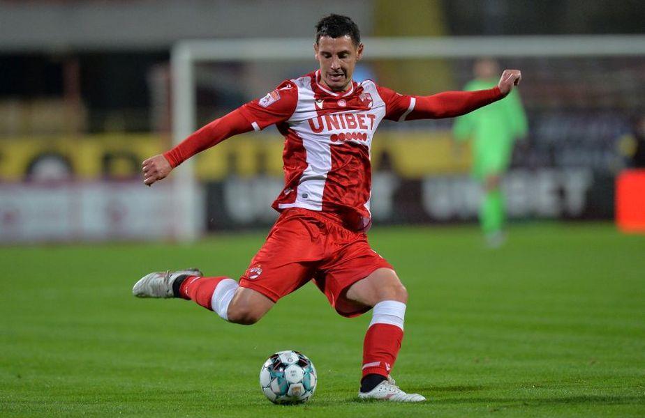 Paul Anton (29 de ani) nu a făcut deplasarea cu Dinamo, pentru meciul de duminică, de la Botoșani