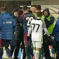 Jovan Markovic (19 ani), atacantul împrumutat de CS Universitatea Craiova la Clinceni, susține că a fost victima unor atacuri rasiste, în timpul meciului pierdut de ilfoveni contra Chindiei Târgoviște, scor 1-2.