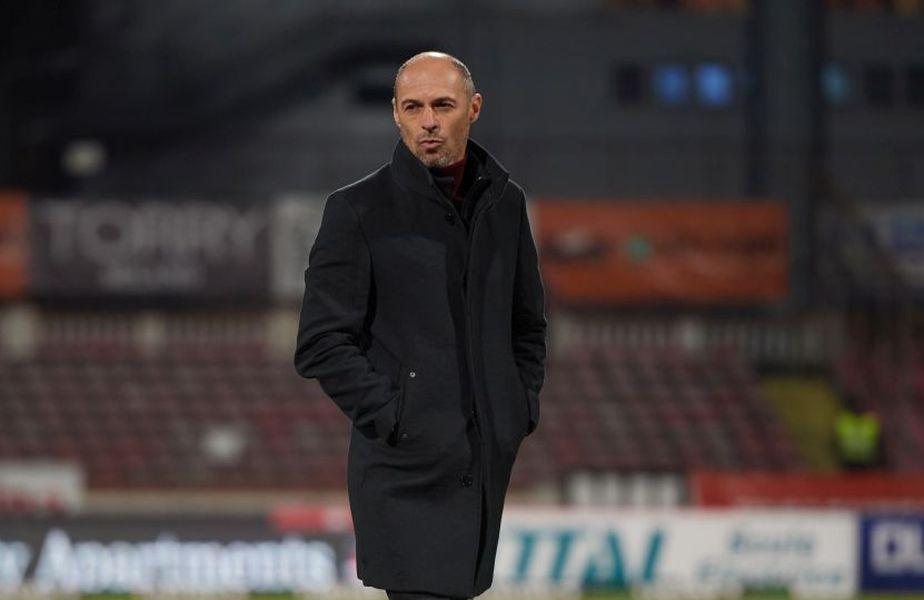 Bogdan Andone (46 de ani) a găsit mai multe lucruri pozitive, după FCSB - FC Voluntari, scor 2-1.