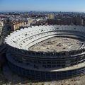 """""""Nou Mestalla"""" ar fi trebuit să fie stadionul pe care Valencia să își dispute meciurile de pe teren propriu. Lucrările la arena ultramodernă au intrat însă în impas, din cauza problemelor financiare."""