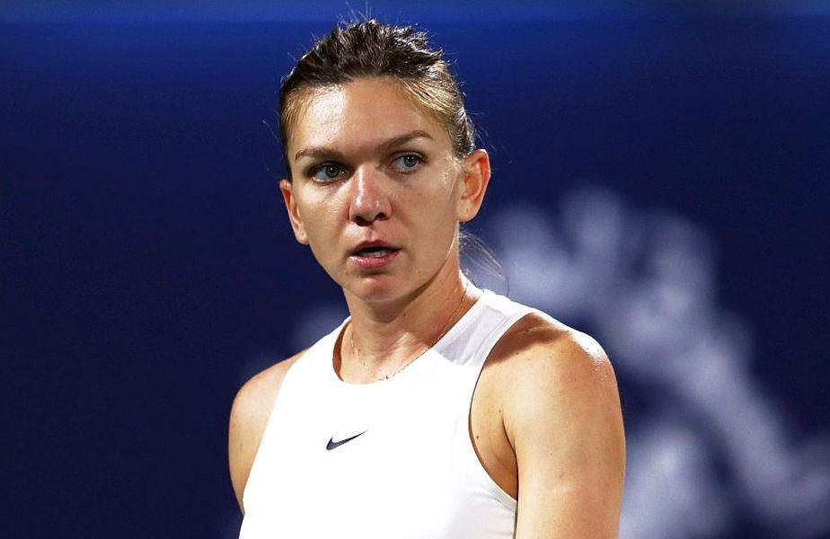 Simona Halep s-a calificat în finala din Dubai, foto: Guliver/gettyimages