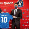 Vlastimir Vukadinovic și Gică Popescu au semnat parteneriatul Superbet - Viitorul // foto: superbet.ro