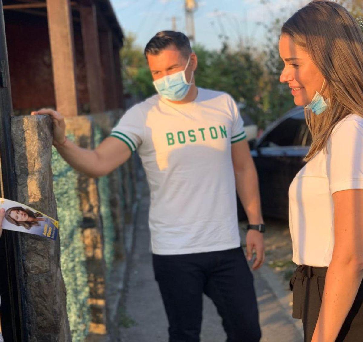 FOTO Ea e noua cucerire a lui Ionuț Stroe » Fostul ministru se iubește cu fiica vitregă a lui Marcel Vela