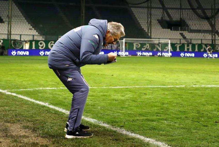 Ladislau Boloni // foto: Facebook @ Panathinaikos FC