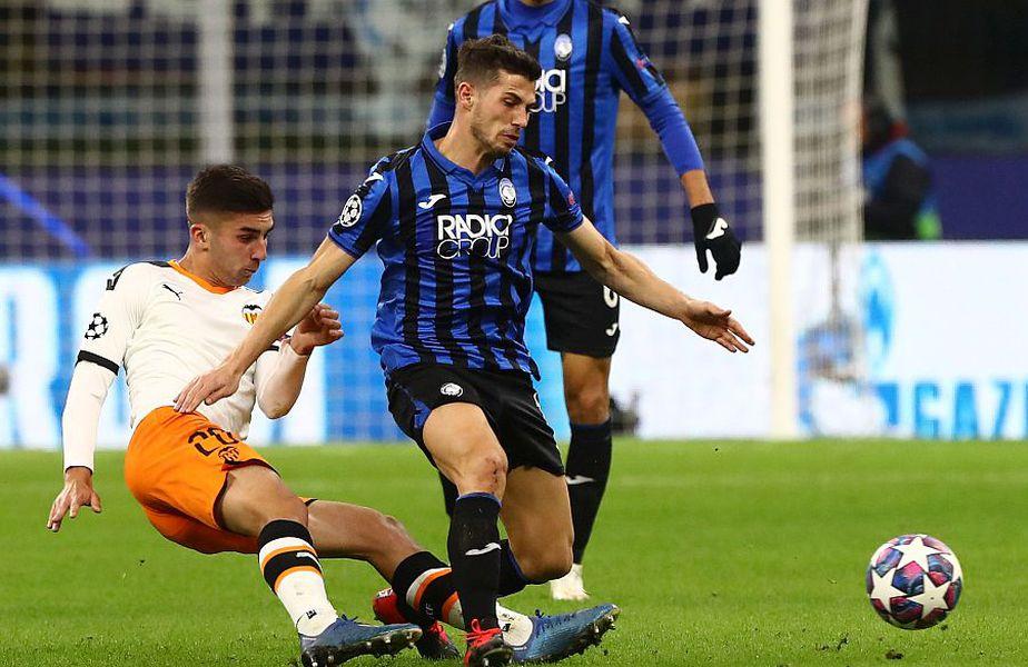 Atalanta s-a impus cu 4-1 în meciul cu Valencia // FOTO: Guliver/GettyImages