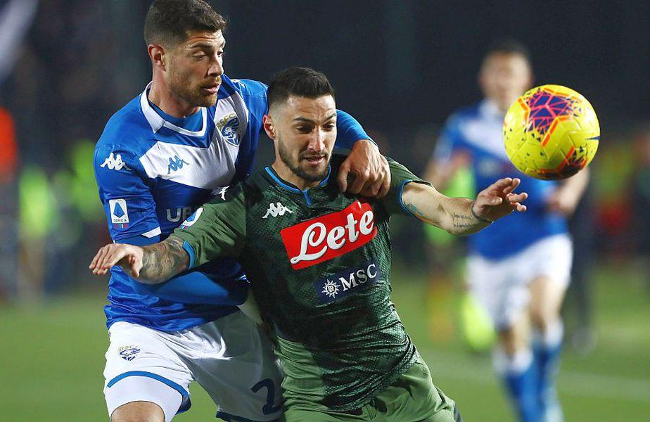Brescia - Napoli // FOTO: Guliver/GettyImages